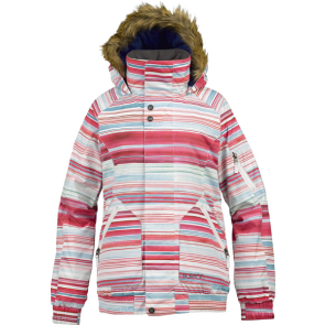 BURTON TRINITY JACKET Stout White Stripes