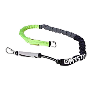 MYSTIC KITE HANDLEPASS LEASH  Black Yellow