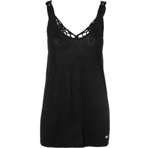 MAJICA O'NEILL MACRAME BACK TANKTOP  Black Out