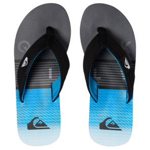 JAPANKE QUIKSILVER MOLOKAI LAYBACK-SANDALS  Black/Grey/Blue
