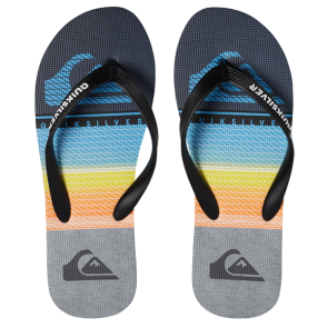 JAPANKE QUIKSILVER MOLOKAI HIGHLINE SLAB Black/Grey/Blue