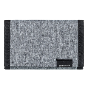 NOVČANIK QUIKSILVER THE EVERYDAILY -TRI-FOLD WALLET  Light Grey Heather