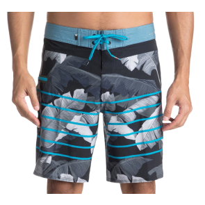 HLAČE ZA KUPANJE QUIKSILVER HIGHLINE ISLAND TIME-BOARD SHORTS Black