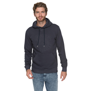 QUIKSILVER EMBOSSED HOODIE Blue Nights