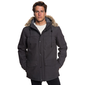 JAKNA QUIKSILVER STORM DROP 5K WATERPROOF HOODED PARKA  Tarmac