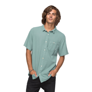 KOŠULJA QUIKSILVER NEW TIME BOX-SHORT SLEEVE SHIRT   Trellis