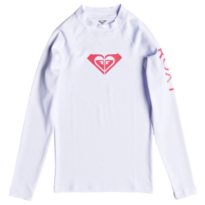 DJEČJA LYCRA ROXY WHOLE HEARTED LONG SLEEVE RASHGUARD  White