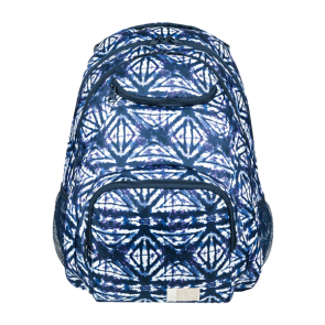 RUKSAK ROXY SHADOW SWELL MEDIUM BACKPACK  Dress Blues Geometric Feeling