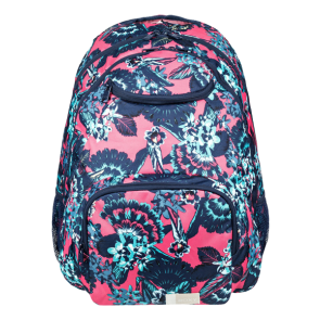 RUKSAK ROXY SHADOW SWELL MEDIUM BACKPACK  Rouge Red Mahna Mahna