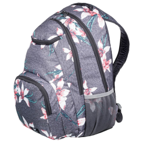 RUKSAK ROXY SHADOW SWELL 24L  Charcoal Heather Flower Field