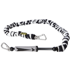 MYSTIC KITE HANDLEPASS LEASH  Black White