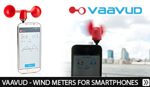 VAAVUD - WIND METERS FOR SMARTPHONES