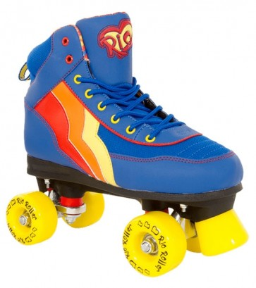 DISCO ROLE RIO ROLLER BLUEBERRY QUAD SKATES