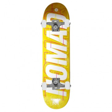 SK8 NOMAD GLITCH LIME COMPLETE 8.25