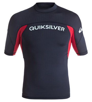 BOTTOM LAYER QUIKSILVER PREFORMER SHORT SLEEVE RASH VEST