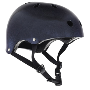 KACIGA SFR ESSENTIALS HELMET  Purple Fleck Black