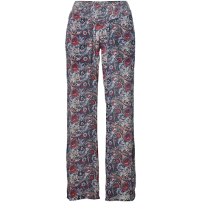 HLAČE DUGE O'NEILL LOVERS POINT PANTS    Blue Aop W/ Pink -Purple