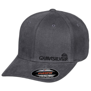 ŠILTERICA QUIKSILVER SIDESTAY FLEXFIT HAT  Medium Grey Heather