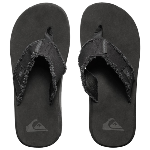 JAPANKE QUIKSILVER MONKEY ABYSS-SANDALS Black/Black/Brown