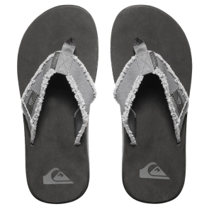 JAPANKE QUIKSILVER MONKEY ABYSS SANDALS  Grey/Black/Brown
