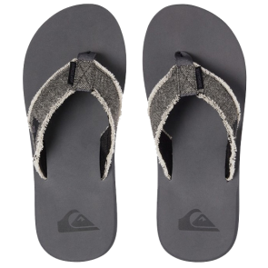 JAPANKE QUIKSILVER MONKEY ABYSS SANDALS  Grey/Black/Grey