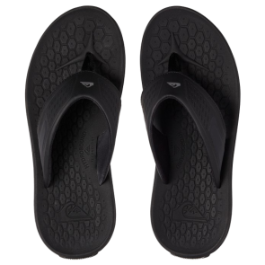 JAPANKE QUIKSILVER LAYOVER TRAVEL SANDALS  Black/Blue/Black