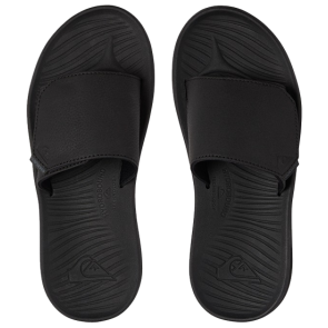 ŠLAPE QUIKSILVER TRAVEL OASIS SLIDERS  Black/Black/Brown