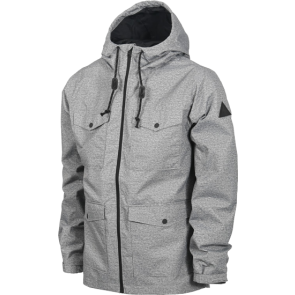 BURTON DANNY JACKET Dark Ash Heather