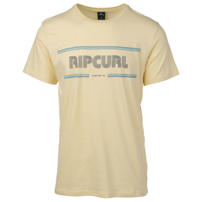 MAJICA KRATKA RIP CURL MAMA STROKES SHORT SLEEVE TEE  Pale Yellow