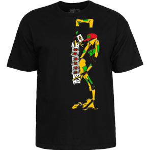 MAJICA KRATKA POWELL PERALTA RAY BARBEE RAG DOLL T-SHIRT   Black