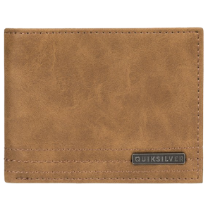 NOVČANIK QUIKSILVER STITCHY WALLET BI FOLD LEATHER   Rubber