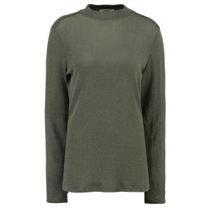 MAJICA DUGA GARCIA GREEN T-SHIRT WITH LONG SLEEVES  Green