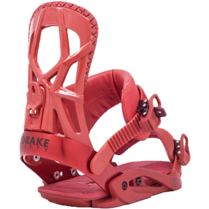 VEZOVI DRAKE FIFTY SNOWBOARD BINDINGS  Bloody Red