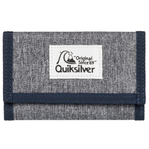 NOVČANIK QUIKSILVER THE EVERYDAILY TRI FOLD WALLET  Light Grey Heather/Navy Blazer