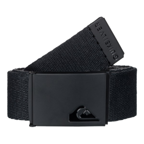 REMEN QUIKSILVER THE JAM REVRSIBLE BELT  Black