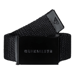 REMEN QUIKSILVER PRINCIPLE WEBBING BELT  Black
