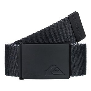 REMEN QUIKSILVER THE JAM REVRSIBLE WEBBING BELT  Black