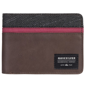 NOVČANIK QUIKSILVER REEF BREAK  Chocolate Brown