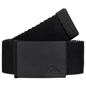 REMEN QUIKSILVER THE JAM WEBBING BELT   Black