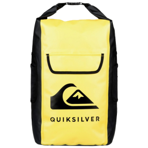 TORBA QUIKSILVER SEA STASH 35L MEDIUM ROLL TOP WET/DRY SURF BACKPACK  Safety Yellow