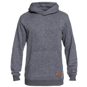 MAJICA KAPULJAČA QUIKSILVER KELLER POLAR FLEECE HOODIE  Dark Grey Heather