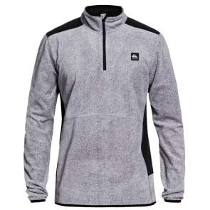 MAJICA QUIKSILVER AKER HALF ZIP TECHNICAL FLEECE   Grey Ripstop Texture