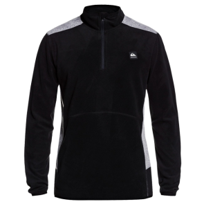 MAJICA QUIKSILVER AKER HALF ZIP TECHNICAL FLEECE   Black