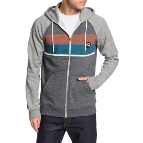 MAJICA ZIP QUIKSILVER EVERYDAY HOODIE  Dark Grey Heather