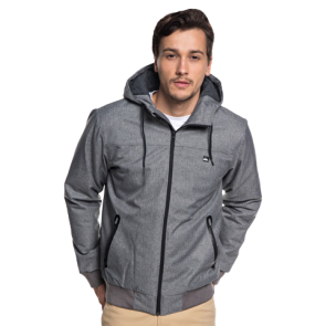 JAKNA QUIKSILVER BROOKS 5K JACKET  Light Grey Heather