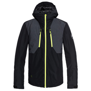 JAKNA SNOWBOARD / SKI QUIKSILVER MISSION PLUS  SNOW JACKET  Black