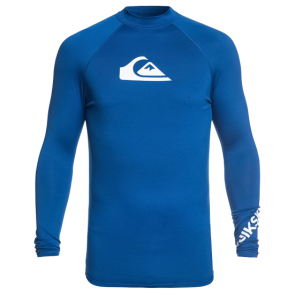 LYCRA QUIKSILVER ALL TIME LS UPF 50 RASH VEST