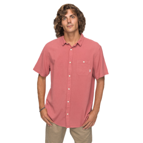 KOŠULJA QUIKSILVER NEW TIME BOX SHORT SLEEVE SHIRT  Mineral Red