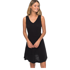HALJINA ROXY CLOUDLESS DAY -TANK DRESS  Anthracite