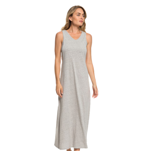 HALJINA ROXY THAT WAY MAXI TANK DRESS   Heritage Heather